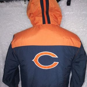 Reebok NFL Chicago Bears parka coat